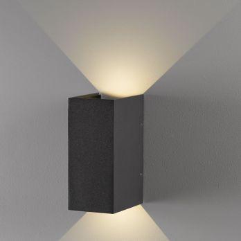 Nordlux norma boven en onder licht buitenlamp zwart