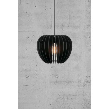 Nordlux tribeca hanglamp zwart 380mm e27 fitting