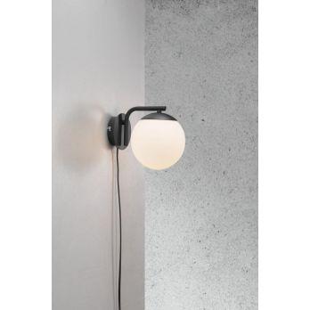 Nordlux Grant modern E14 fitting wandlamp opaal glas