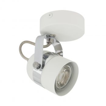 Plafondlamp wit gu10 verstelbaar industrieel