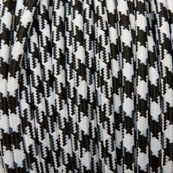 Strijkijzer snoer zwart wit