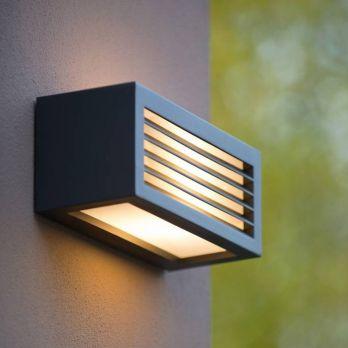 Wandlamp 'Verona' buitenverlichting antraciet zwart E27 fitting IP54 op FOIR.nl