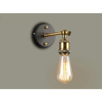 Wandlamp industrieel e27 fitting modern ethan