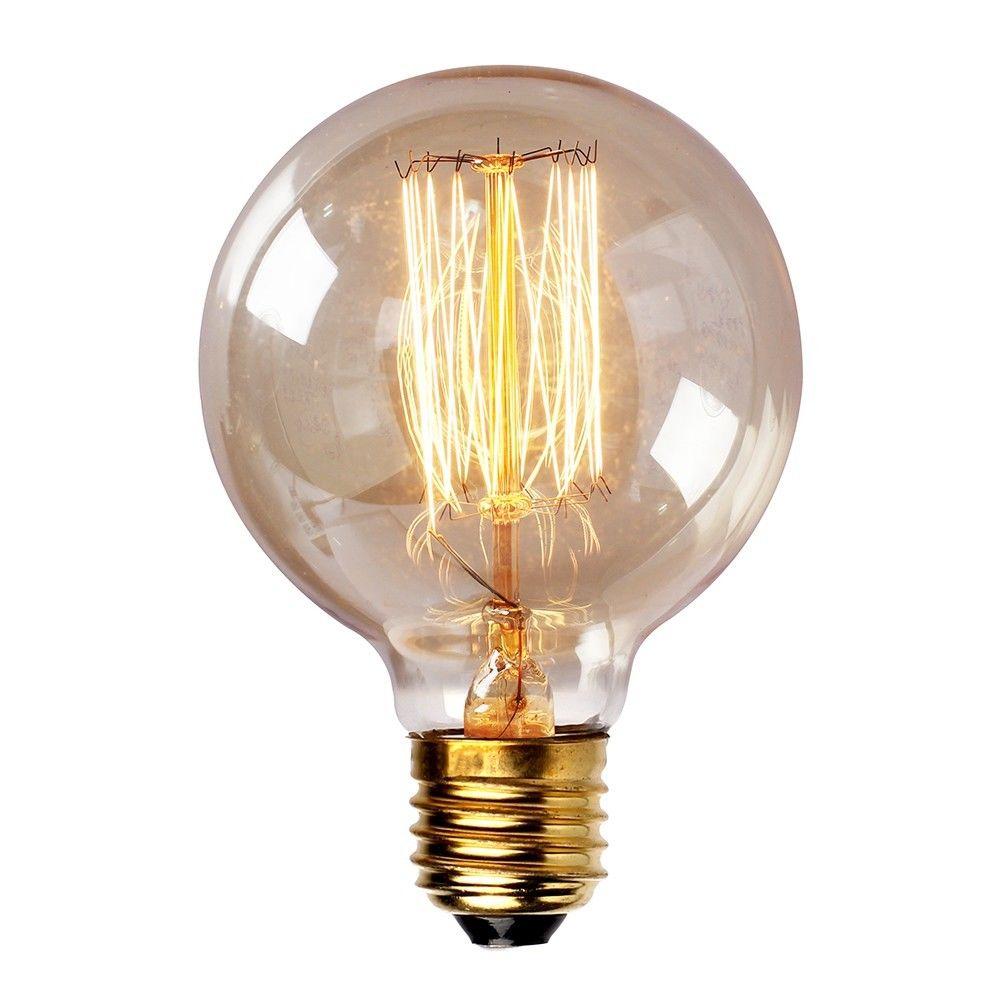 Kooldraadlamp Globe E27 Fitting G80 8cm Makkelijk