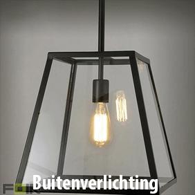 Industriele buitenverlichting voor het verlichten van je gevel