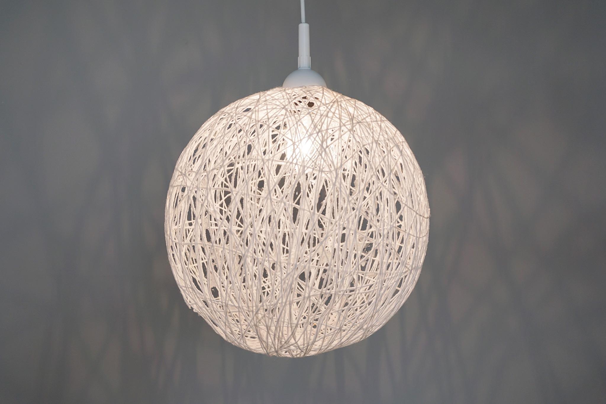 Draadlamp DIY zelf maken