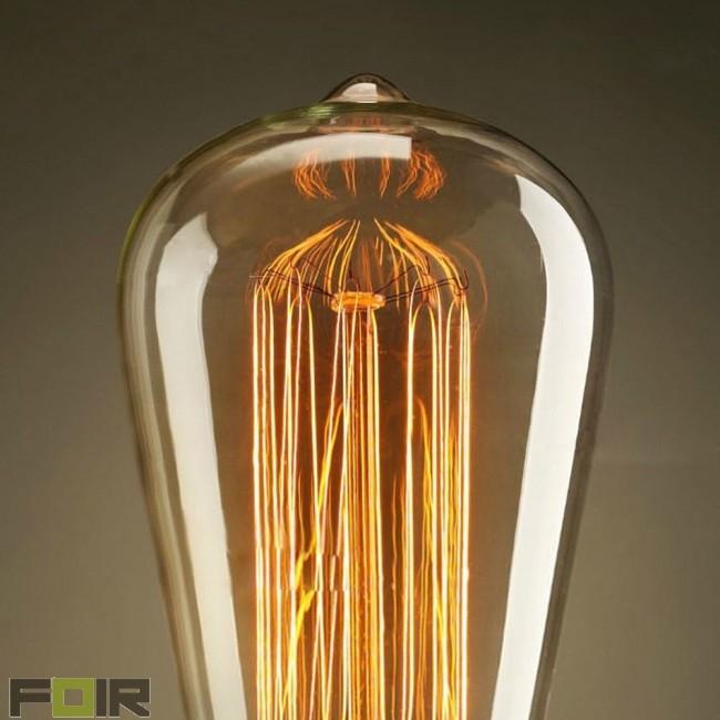 Bekijk deze geweldige kooldraadlamp globe in de webwinkel! G80