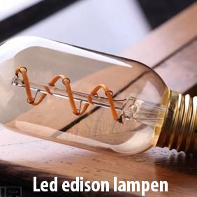 Led lampen edison vintage op de led lampen pagina