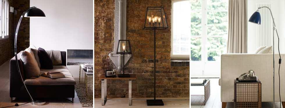 Vloerlampen FOIR verlichting vloerlamp